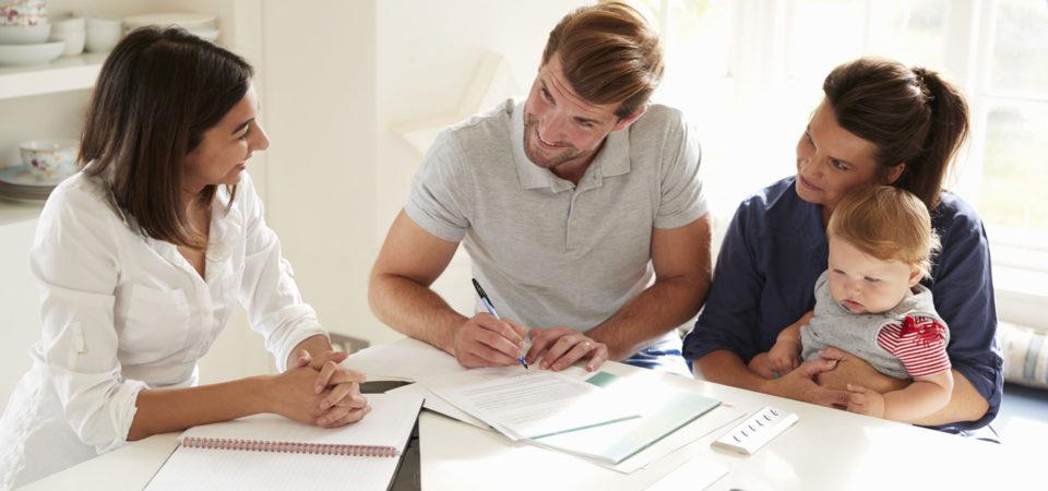 Financial advisor mortgage review